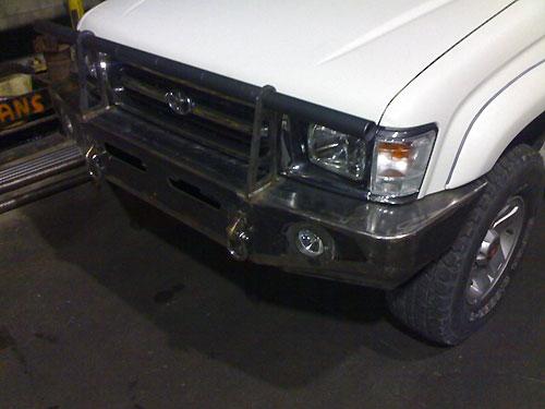 front bumper hilux