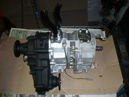 how to use dual transfer case