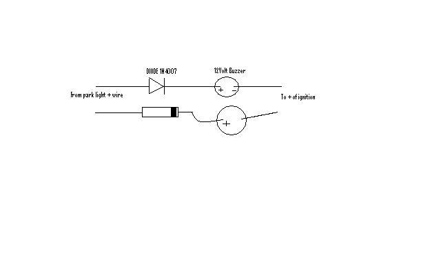 lights on reminderlights on reminder wiring diagram