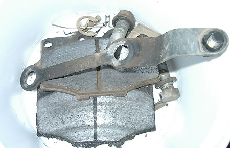 Brake pads for hilux